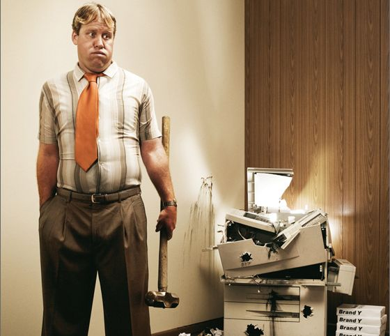 Смешная картинка с принтером